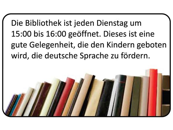 Biblioteek Duits Kroondal Skool